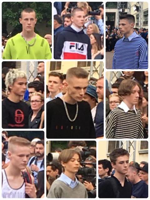 ショーモデルは、インスタで集めた若者たち。インスタで繋がっていたおかげで、初対面でも会話が盛り上がるそうです