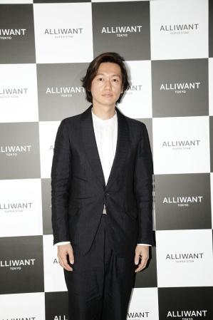 「ALLIWANT TOKYO」のイメージキャラクターを務める
