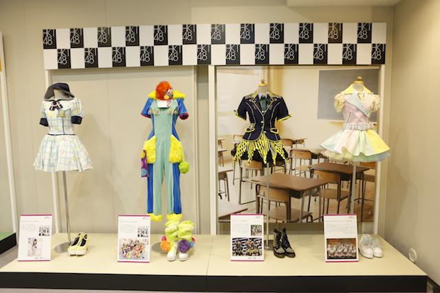 衣装展「AKB48 衣装ミュージアム 衣装が語る少女たちのキセキ」
