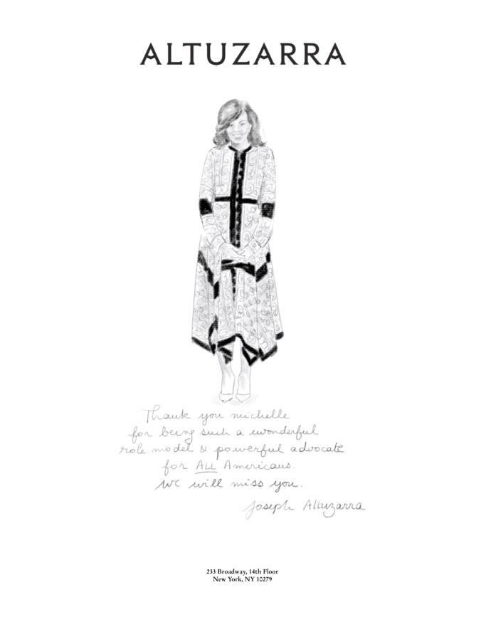 ジョセフ・アルチュザラの手紙 (c) Fairchild Fashion Media