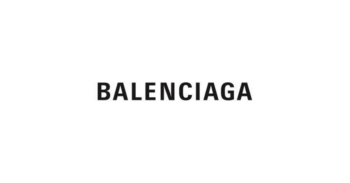 バレンシアガ」ロゴ変更 | WWDJAPAN