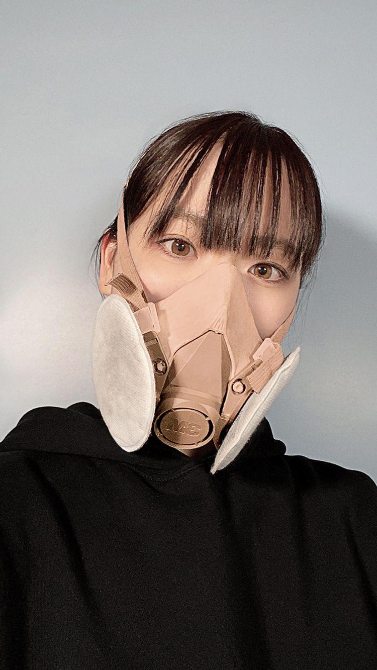マスク コロナ ウイルス ガス