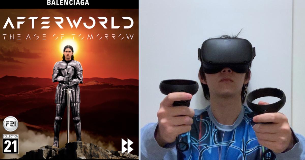 「バレンシアガ」がゲーム内で発表したコレクションを記者が体験リポート 2031年の世界で「NASA」や「PS5」とのコラボも | WWDJAPAN